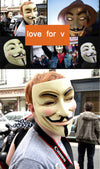 V for Vendetta, Anonymous Party Mask