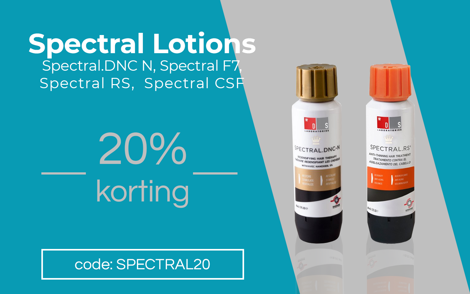 DS Laboratories 20% korting spectral mobile