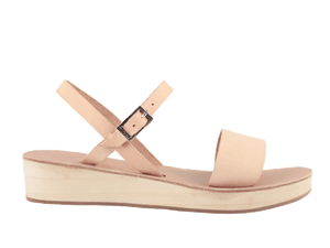 Aria | Natural Wedge Sandal