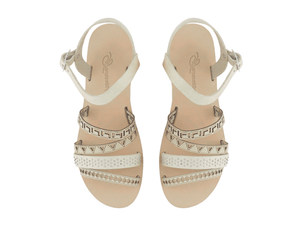 Dexithea | Natural Strappy Sandal