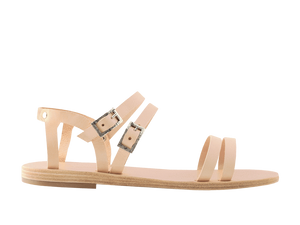 Euadne | Natural Gladiator Sandal