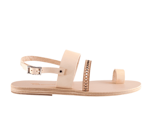 Nysa | Natural Toe Strap Sandal