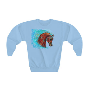 Horse of Many Colors Youth Crewneck Sweatshirt