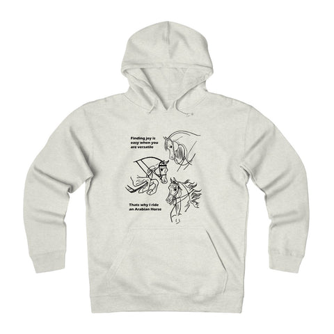 Arabian Horse is Versatile Inspirational Shirt Horse Hoodie Unisex Heavyweight Fleece Hoodie