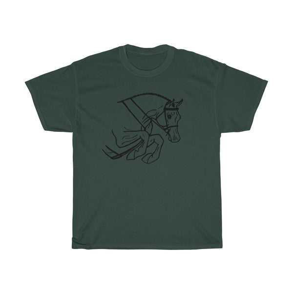 Hunter Jumper Unisex Heavy Cotton Tee