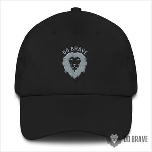 Do Brave Dad Hat - Black