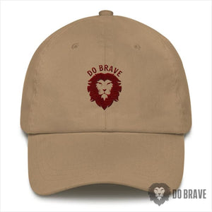 Do Brave Dad Hat - Khaki