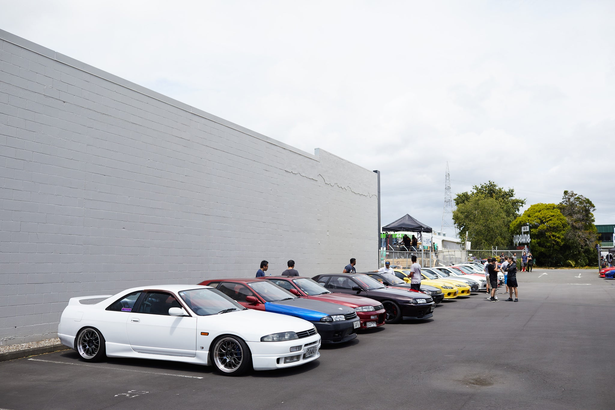 JDM lineup at Scarles Performance