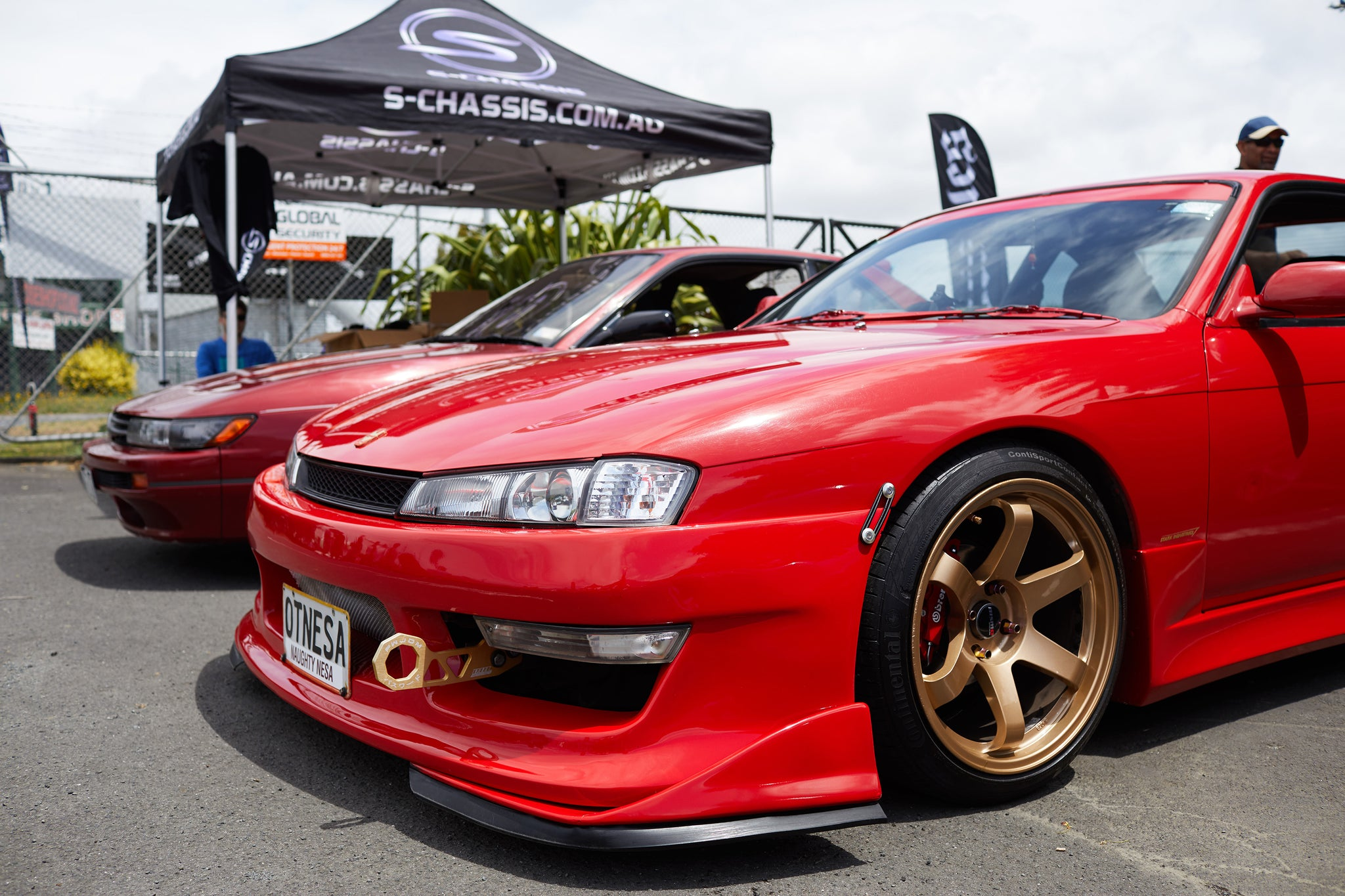 Nissan S14 at Scarles performance