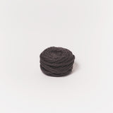 Midnight gray 2ply mini chunky wool yarn made from NZ Merino Wool. We ship worldwide! Free delivery across USA!