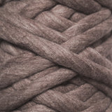 Plump & Co's giant yarn in gray 1 ply. Use our plumptious XXL New Zealand merino wool with our giant knitting needles or crochet hooks to make your own chunky knit blanket or throw. Free delivery across USA! We ship worldwide!
