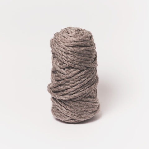 Plump & Co's giant yarn in gray 2 ply. Use our plumptious XXL New Zealand merino wool with our giant knitting needles or extreme crochet hooks to make your own chunky knit blanket or throw. Worldwide shipping, free shipping to New Zealand and Australia!