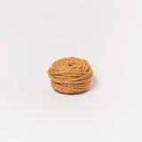 Mustard 2 ply mini chunky wool yarn made from NZ Merino Wool. Free delivery across USA! We ship worldwide!