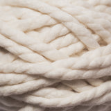 White 2ply mini chunky wool yarn made from NZ Merino Wool. We ship worldwide! Free delivery across USA!