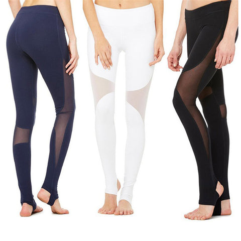 """Amanda"" Mesh Yoga Pants (4 Colors) - 50% OFF WHILE SUPPLIES LAST!"