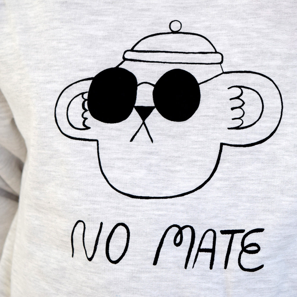 No Mate illustration graphic sweatshirt by YUK FUN