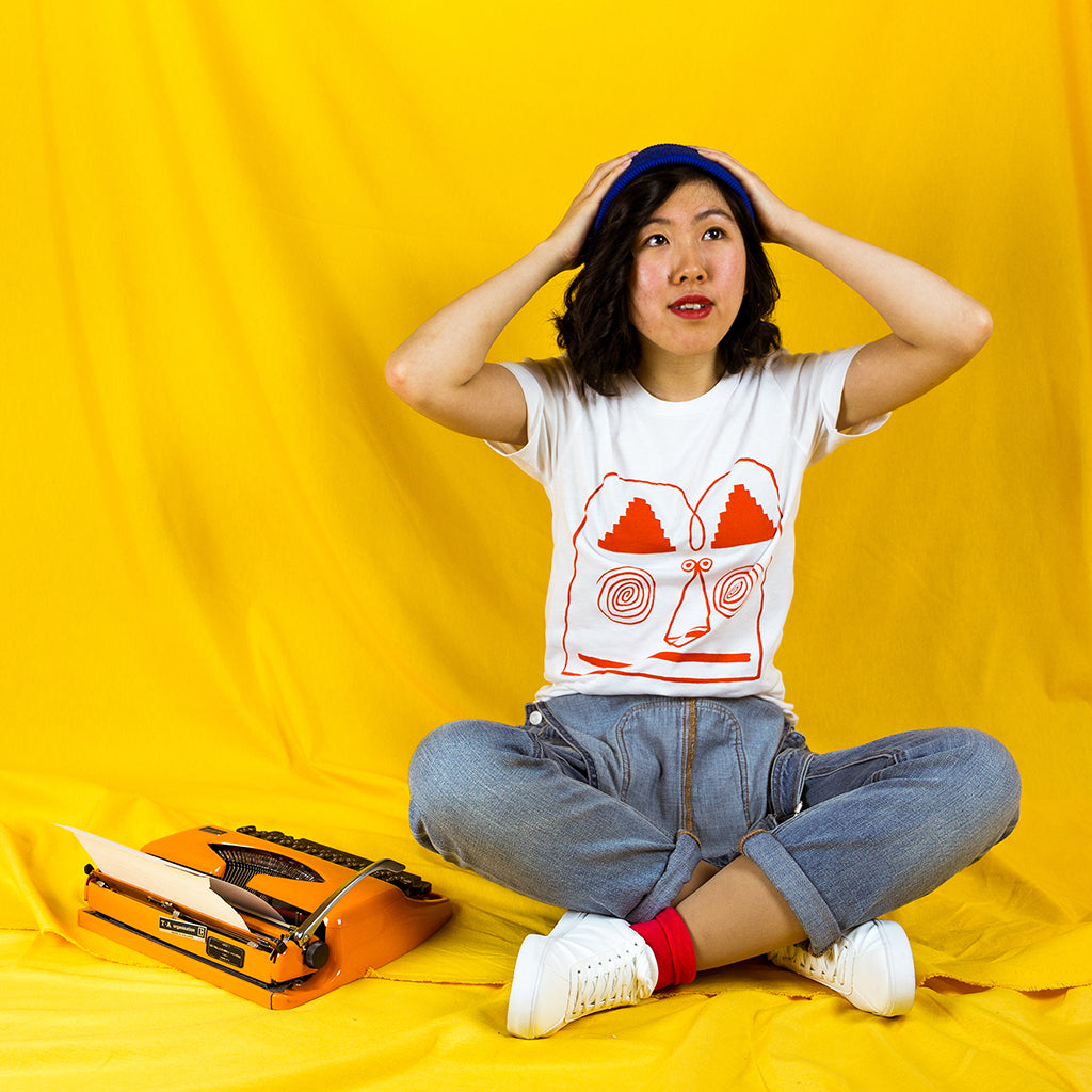 Totally rad illustrated t-shirt from independent label YUK FUN