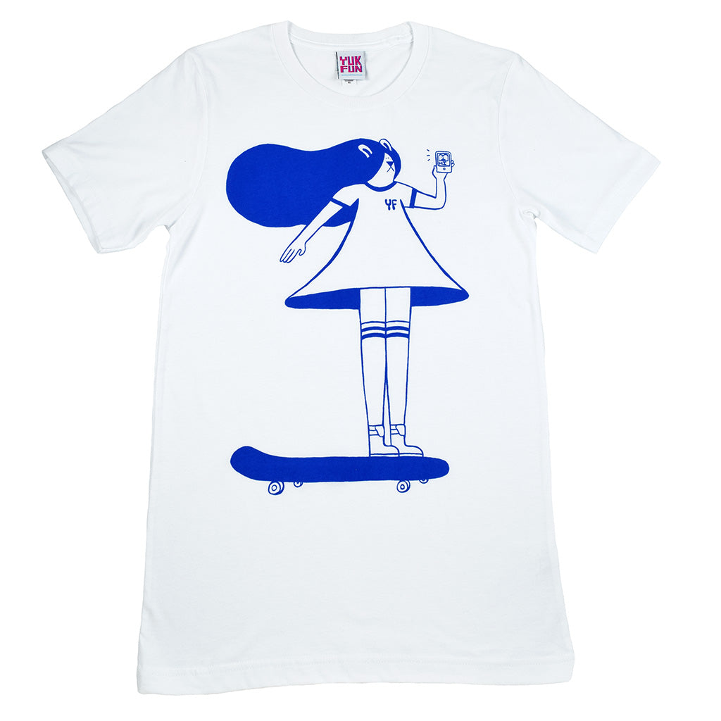 Illustrated screen printed T-shirts from indie label YUK FUN