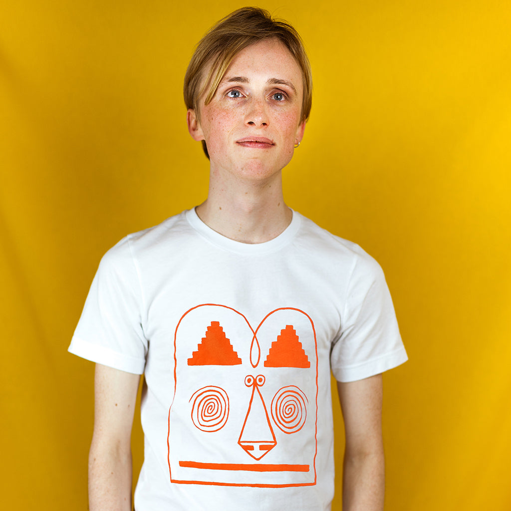 Cool funny mens t-shirt screen printed by British label YUK FUN
