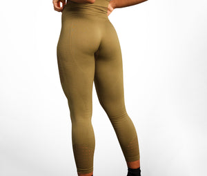 Slay Seamless High Waisted Leggings- Green