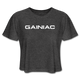 Gainiac Cropped T-Shirt - deep heather