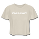 Gainiac Cropped T-Shirt - dust