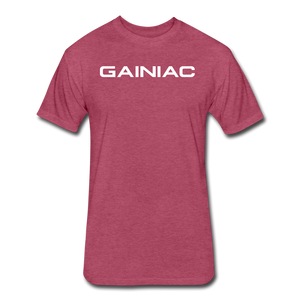 Gainiac T-Shirt - heather burgundy