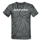 Gainiac Tie Dye T-Shirt - spider black