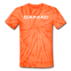 Gainiac Tie Dye T-Shirt - spider orange