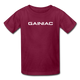 Gainiac- Kids' T-Shirt - burgundy