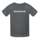 Gainiac- Kids' T-Shirt - charcoal