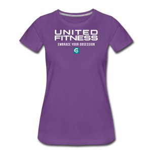 United Fitness Premium T-Shirt - purple