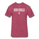 iBodybuild T-Shirt - heather burgundy