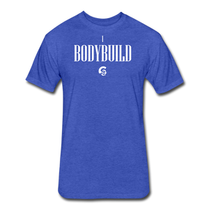 iBodybuild T-Shirt - heather royal