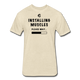 Installing Muscles T-Shirt - heather cream