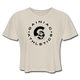 Gainiac Athletics Cropped T-Shirt - dust