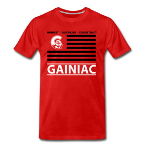 MDC Flag T-Shirt-  Red - red