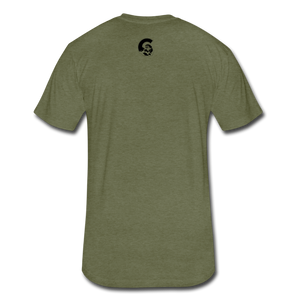 Never F*ckin Quit T-Shirt- Military Green - heather military green