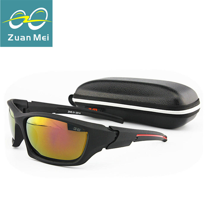 Men's Sports Sunglasses with Case