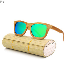 Wooden Sunglasses with Case - Multiple colors