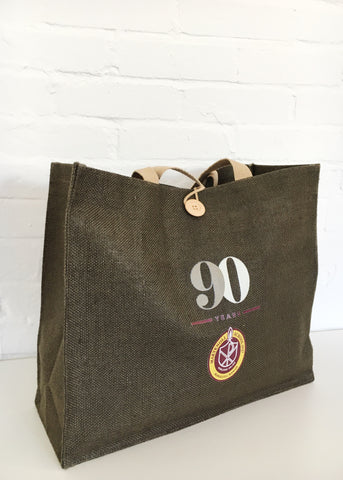 Maryknoll 90th Anniversary Jute Bag