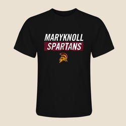 Maryknoll Spartan Black T-Shirt