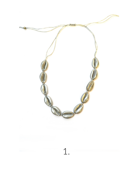 Novato⎜Necklace Metallic