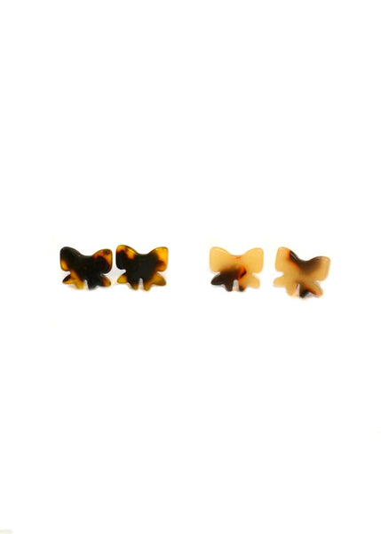 SALE Resin Bowtie Studs