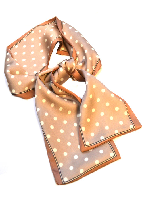 SALE Mini Polka Dot Scarf