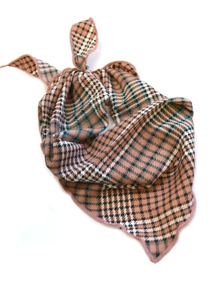 SALE Plaid Neck Scarves