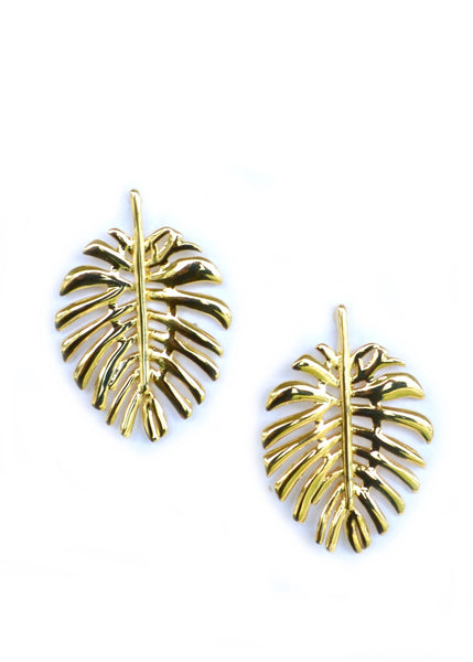 Palm Leaf Stud