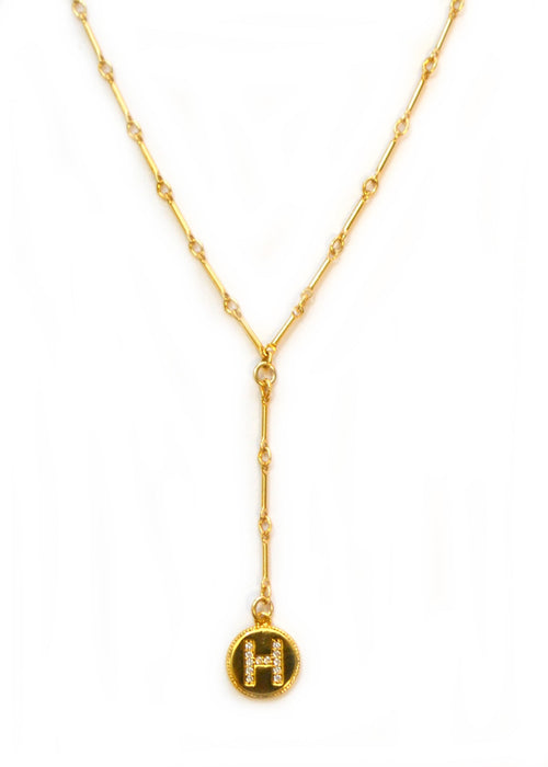 Harper | Gold filled Initial necklace