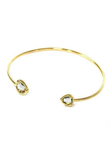 Oval Teardrop Bangle