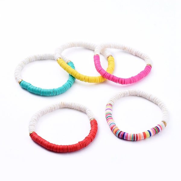 COLOR BLOCK HEISHI BRACELET